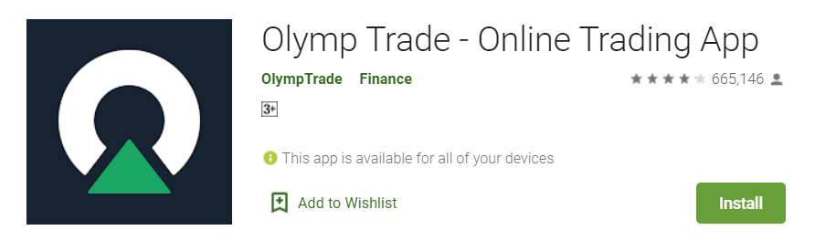Olymp Trade app