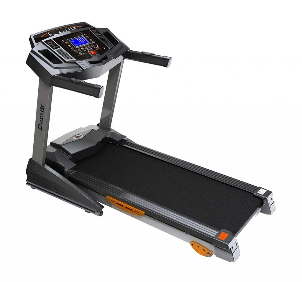 Durafit Strong 2.0 HP (4.0 HP Peak) DC Motorized Foldable Treadmill