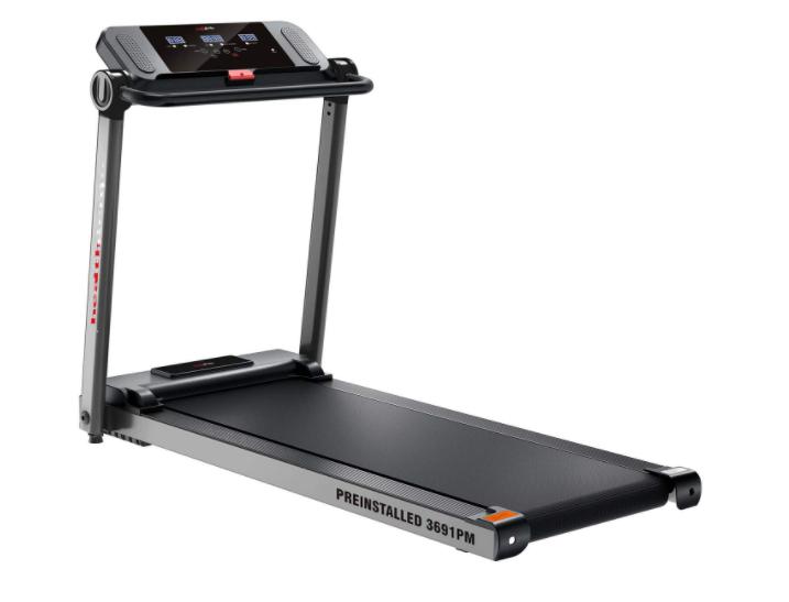 Healthgenie 3691PM Pre-Installed, 1.5HP at Peak Motorized Treadmill
